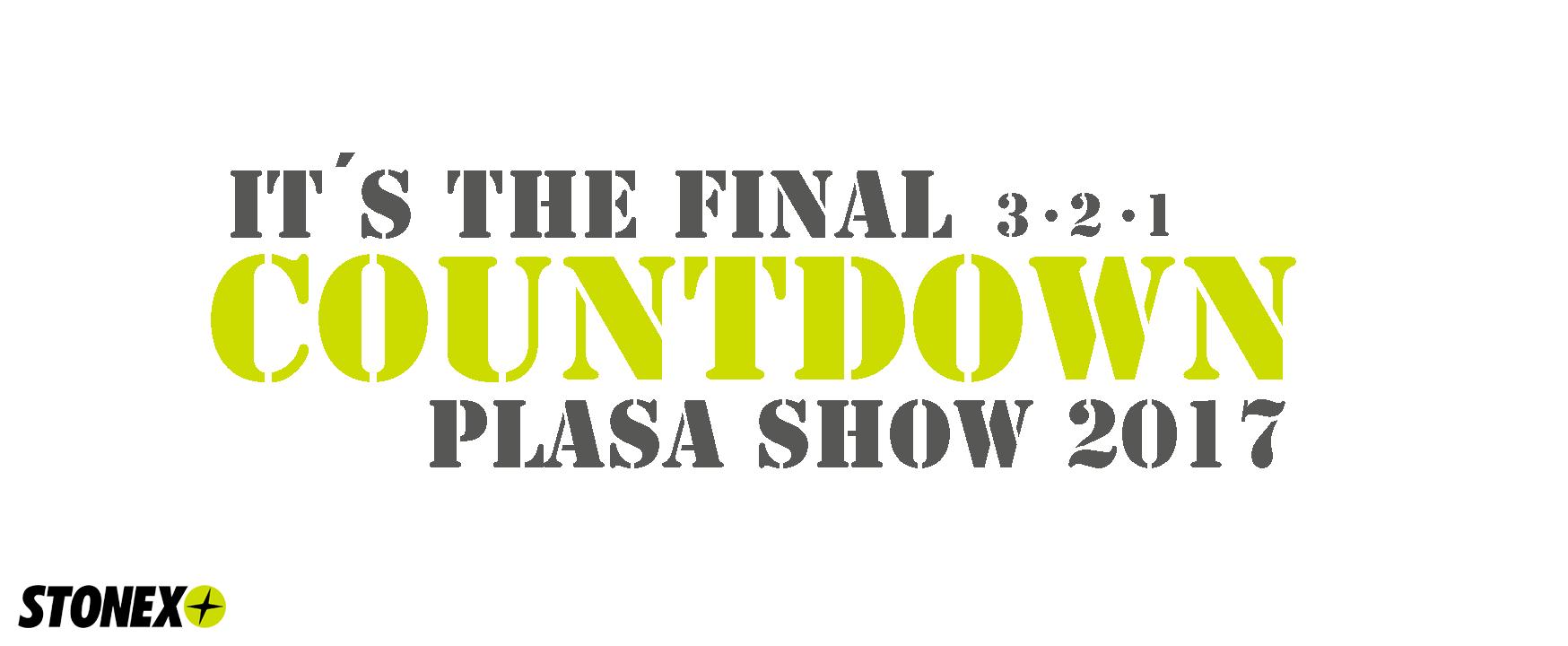 Final Countdown PLASA