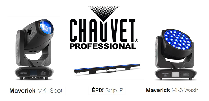 chauvet + prolight + sound + new + products