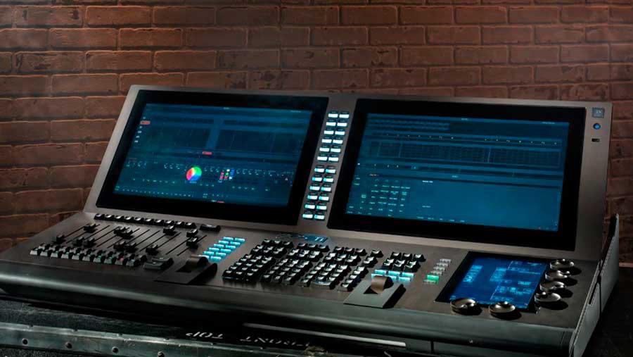 Mesa control iluminación EOS ETC