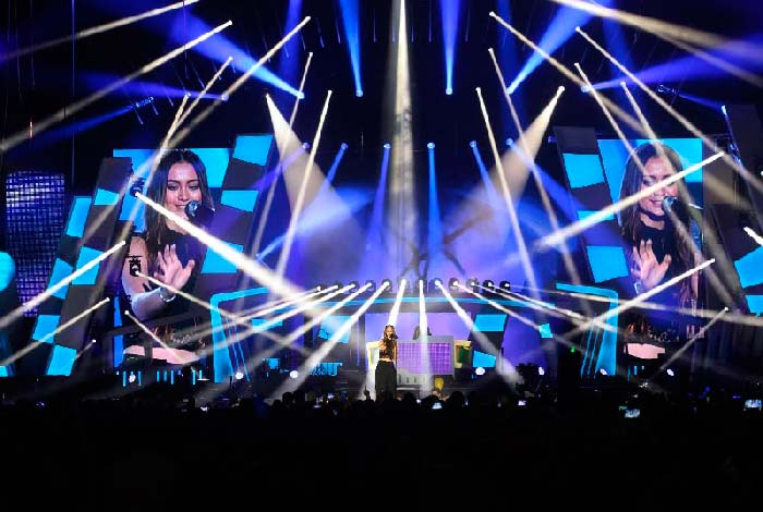 Iluminación escénica concierto