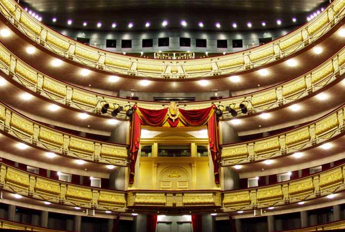 iluminación Teatro Real de Madrid