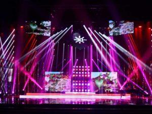 Iluminación escenario CanalSur_30aniversario