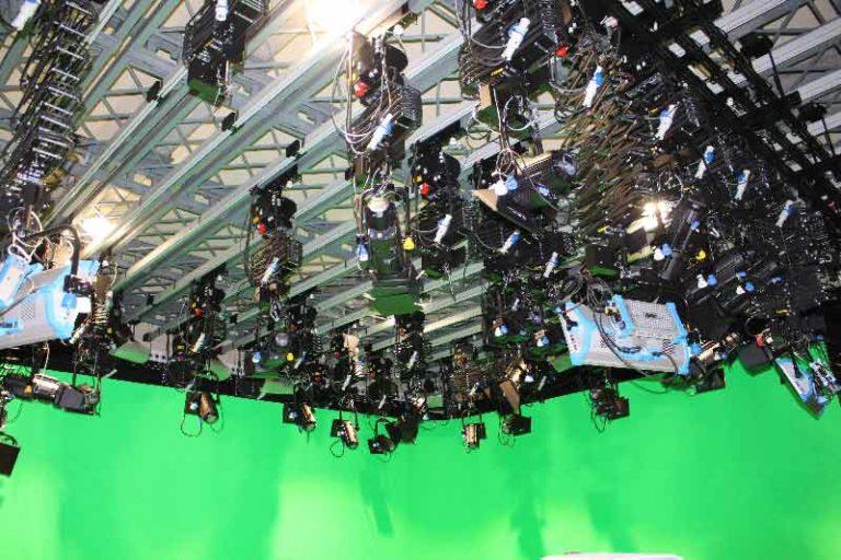 Ilumianción estudios RTVE tecnología LED ETC