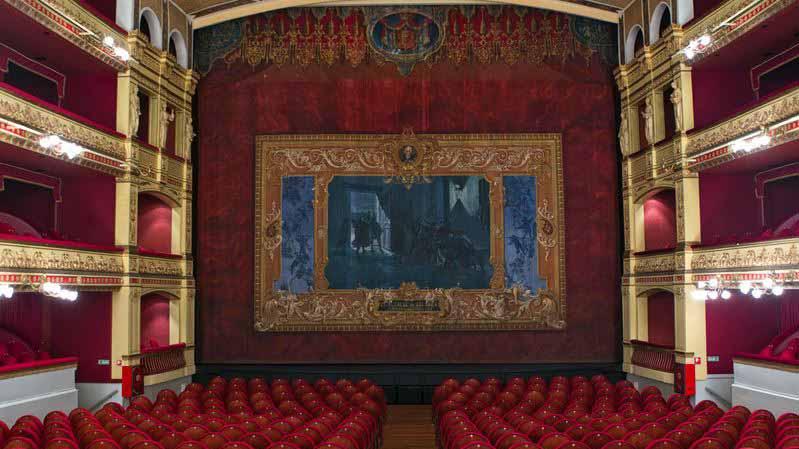 Calderon theater lighting