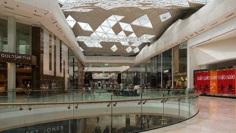 Evacuacion adaptativa centro comercial