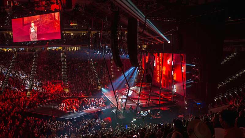 Backstreet Boys Ayrton Ma Lighting