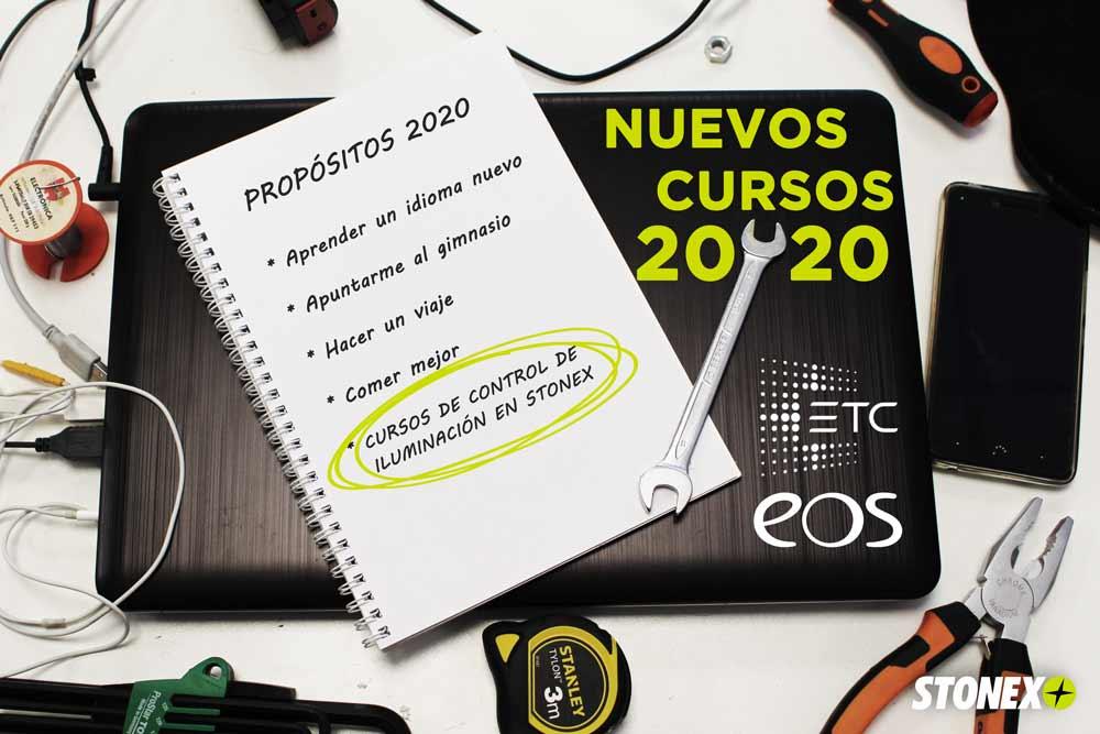 Nuevos cursos ETC EOS 2020