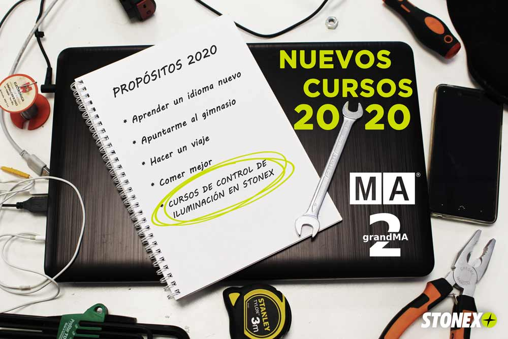 Nuevos cursos MA Lighting 2020