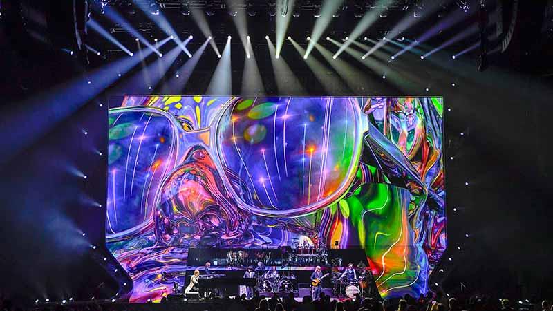 Elton John Claypaky Ma Lighting