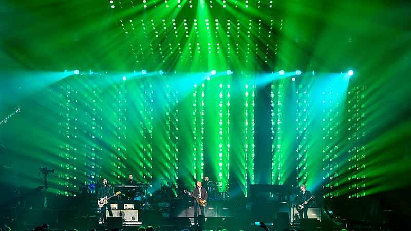 Paul McCartney MA Lighting