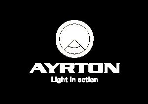 logo Ayrton blanco total