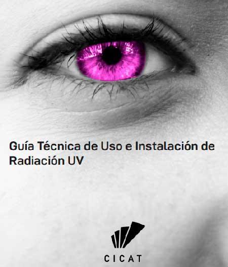 Portada Guía Técnica de Uso e Instalación de Radiación UV