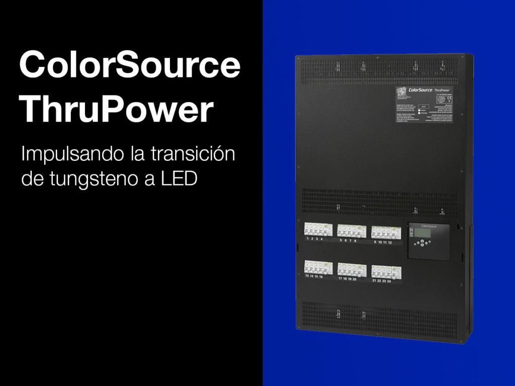 color source thru power