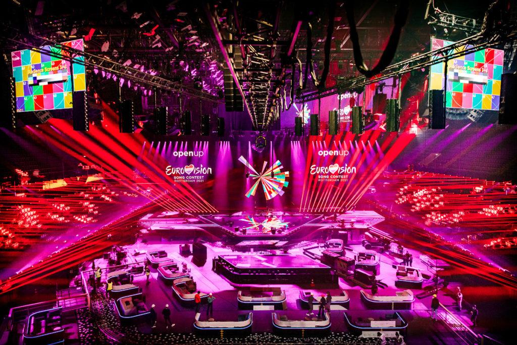 iluminacion eurovision 2021