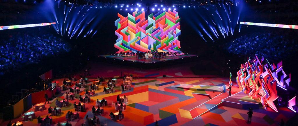 Iluminación Brit Awards 2021