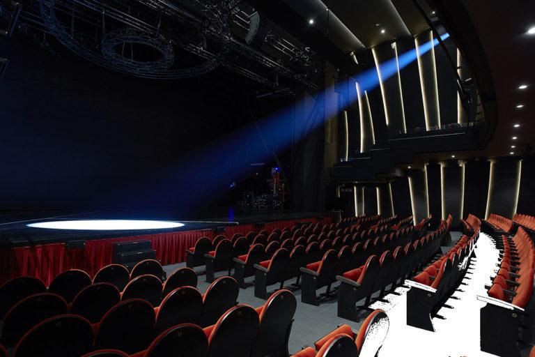 Motores de velocidad variables en Teatro Soho de Málaga. ©Teatro Soho