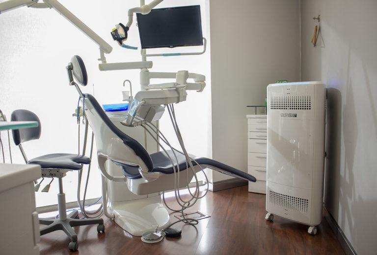 desinfección de aire clínicas dentales