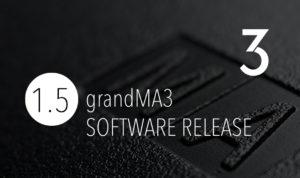 nueva versión software GrandMA3