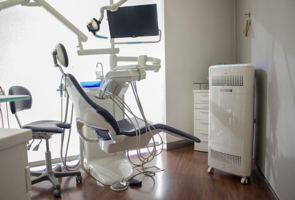 desinfección de aire en clínicas dentales