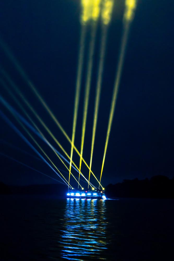 irish light artist mick murray and lighting designer matthew cregan presented light balle 2