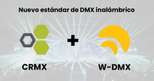 lumenradio nuevo estándar dmx inalámbrico